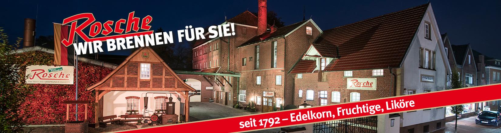 Edle Spirituosen aus Haselünne: Edelkorn-Brennerei Jos. Rosche